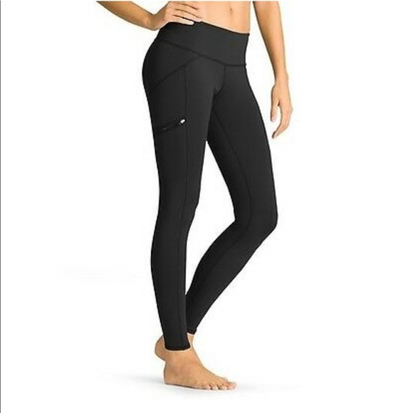 5b18352da08f7 Athleta Pants   Drifter Tight Black Leggings Sz M 964031   Poshmark